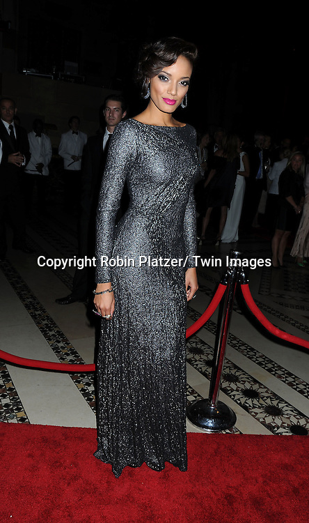 Selita Ebanks arriving at The New Yorkers for Children Fall Gala on September 21, 2010 at Cipriani's 42nd Street.