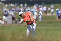 Paul Casey (ENG) plays his 2nd shot on the 8th hole during Saturday's Round 3 of the 118th U.S. Open Championship 2018, held at Shinnecock Hills Club, Southampton, New Jersey, USA. 16th June 2018.<br /> Picture: Eoin Clarke | Golffile<br /> <br /> <br /> All photos usage must carry mandatory copyright credit (&copy; Golffile | Eoin Clarke)
