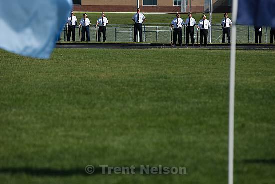 Salem - Salem High School's first ever graduation ceremony, Wednesday May 27, 2009.american legion post 68 honor guard
