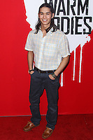 "HOLLYWOOD, CA - JANUARY 29: BooBoo Stewart arrives at the ""Warm Bodies"" Los Angeles Premiere held at ArcLight Cinemas Cinerama Dome on January 29, 2013 in Hollywood, California. Photo Credit: Xavier Collin / Retna Ltd. / MediaPunch Inc /NortePhoto"