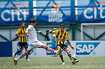 Aston Villa vs Wellington Phoenix during day two of the HKFC Citibank Soccer Sevens 2015 on May 30, 2015 at the Hong Kong Football Club in Hong Kong, China. Photo by Xaume Olleros / Power Sport Images
