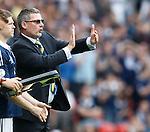 Craig Levein wants his midfield tighter