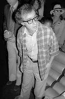 Woody Allen at Studio 54 1977<br /> Photo By Adam Scull/PHOTOlink.net