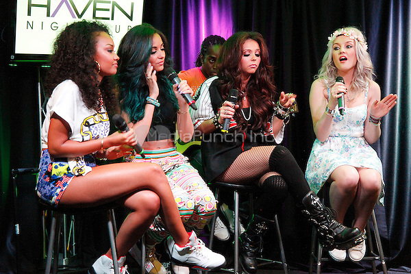 BALA CYNWYD, PA - MAY 30 : Little Mix visit Q 102 Performance Theater in Bala Cynwyd, Pa on May 30, 2013  © Star Shooter / MediaPunch Inc