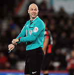Referee Anthony Taylor<br /> - Barclays Premier League - Bournemouth vs Manchester United - Vitality Stadium - Bournemouth - England - 12th December 2015 - Pic Robin Parker/Sportimage