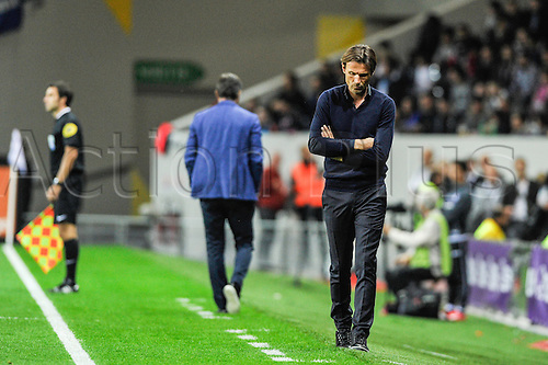 23.09.2015. Toulouse, France. French League 1 football. Toulouse versus Marseille.  Manager Dominique ARRIBAGE (tfc)