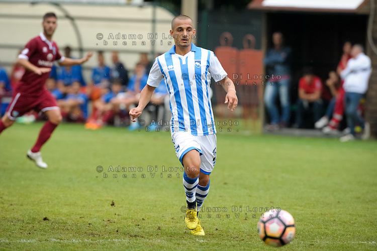 Mitrita Alexandru (Pescara) during the withdrawal preseason Serie A; match friendly between Pescara vs San Nicolò, on July 28, 2016. Photo: Adamo Di Loreto/BuenaVista*photo
