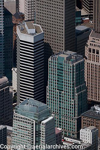 Aerial Photograph 50 Second Street 595 Market San Francisco
