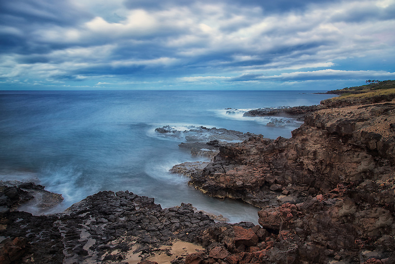 Coastline in Lanai, Hawaii