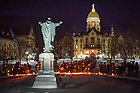 January 20, 2019; MLK Candlelight Prayer Service (Photo by Matt Cashore/University of Notre Dame)
