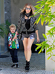 EXCLU! Fergie and son Axl