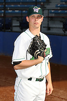 June 27th 2008:  Pitcher Wade Korpi of the Jamestown Jammers, Class-A affiliate of the Florida Marlins, during a game at Russell Diethrick Park in Jamestown, NY.  Photo by:  Mike Janes/Four Seam Images