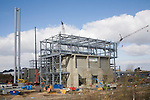 Energy from waste facility being constructed at Great Blakenham, Suffolk, England