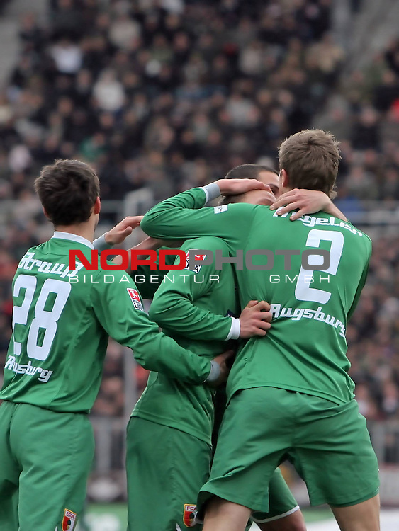 2.Liga FBL 2008/2009  25.Spieltag R&uuml;ckrunde<br /> FC St.Pauli vs. FC Augsburg 1:1<br /> <br /> <br /> Torsch&uuml;tze Tobias Werner (Nr.13) Mitte<br /> <br /> Foto &copy; nph (nordphoto)<br /> <br /> *** Local Caption ***