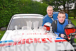 MIGHTY DUO: Killarney father and son team Charlie and Johnny Hickey who came second in the Southern Four Rally Championship.