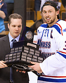 Tim Lamoriello, Michael Kapla (UML - 3) The University of Massachusetts-Lowell River Hawks defeated the Boston College Eagles 4-3 to win the 2017 Hockey East tournament at TD Garden on Saturday, March 18, 2017, in Boston, Massachusetts.