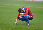 Crystal Palace's Joel Ward looks on dejected during the Premier League match at Selhurst Park Stadium, London. Picture date December 17th, 2016 Pic David Klein/Sportimage