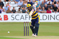 David Lloyd in batting action for Glamorgan during Essex Eagles vs Glamorgan, NatWest T20 Blast Cricket at the Essex County Ground on 29th July 2016