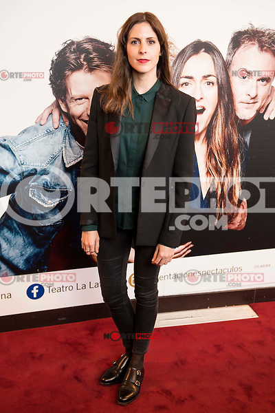 "Barbara Santa Cruz attends to the premiere of the theater play ""Los Vecinos de Arriba"" of the director Cesc Gayt at Teatro La Latina in Madrid. April 13, 2016. (ALTERPHOTOS/Borja B.Hojas)"