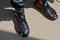 9-10 July, 2016 Newton, Iowa USA<br /> The shoes of James Hinchcliffe (#5)<br /> &copy;2016, F. Peirce Williams