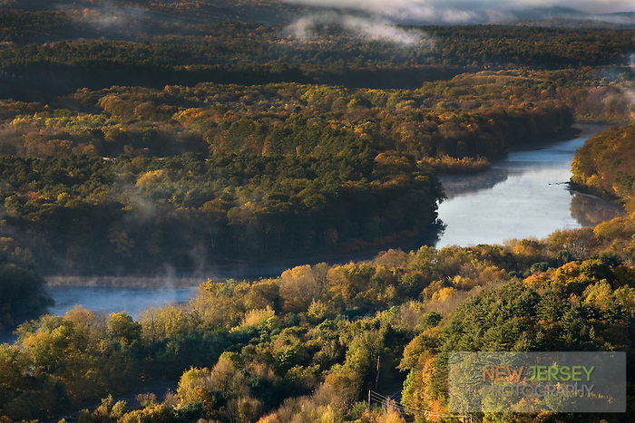 Delaware Valley and River, Kittatiny Mountain, New Jersey