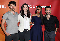 PASADENA, CA, USA - APRIL 08: Eoin Macken, Jill Flint, Daniella Alonso, Freddy Rodriguez at the NBCUniversal Summer Press Day 2014 held at The Langham Huntington Hotel and Spa on April 8, 2014 in Pasadena, California, United States. (Photo by Xavier Collin/Celebrity Monitor)