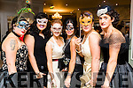 Cathy Troth, Nadine Smith, Deirdre Ruane, Mary Woulfe, Eileen Kennedy and Mary Kelliher, pictured at Pieta House Masquerade Ball on Friday night last held in the Rose Hotel, Tralee.