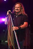 POMPANO BEACH FL - FEBRUARY 10: Johnny Van Zant of Lynyrd Skynyrd performs at The Pompano Beach Amphitheater on February 10, 2017 in Pompano Beach, Florida. Photo by Larry Marano © 2017