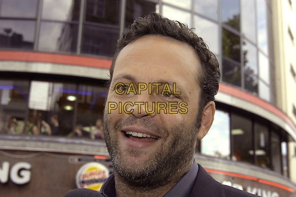 "VINCE VAUGHN.""The Break-Up"" UK film premiere.vue cinema, Leicester Square, London England.14th June 2006.Ref: IA.portrait headshot break up beard stubble .www.capitalpictures.com.sales@capitalpictures.com.©Can Nguyen/Capital Pictures"