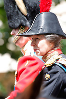 Trooping The Colour 2019<br /> LONDON, ENGLAND - JUNE 08: Anne, Princess Royal at Trooping The Colour, the Queen's annual birthday parade, on June 08, 2019<br /> CAP/GOL<br /> ©GOL/Capital Pictures