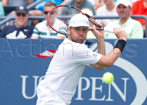 31.08.2015. New York, NY, USA.  Mardy Fish (USA)  US Open 2015 Grand Slam ITF ATP Tennis Mens 1st round Flushing Meadows 31st August 2015.