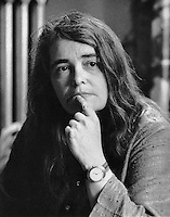 Kate Millett author of Sexual Politics, Flying, Sita Lesbian Feminist activist in Cambridge MA June 1977