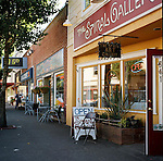 The Spiral Gallery in downtown Estacada, Oregon