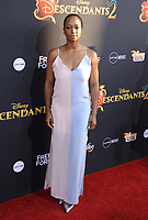 www.acepixs.com<br /> <br /> July 11 2017, LA<br /> <br /> Monique Coleman arriving at the premiere of Disney Channel's 'Descendants 2' on July 11, 2017 in Los Angeles, California. <br /> <br /> By Line: Peter West/ACE Pictures<br /> <br /> <br /> ACE Pictures Inc<br /> Tel: 6467670430<br /> Email: info@acepixs.com<br /> www.acepixs.com