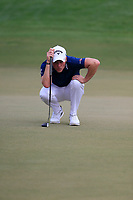 Danny Willett (ENG) on the 15th green during the 3rd round of the DP World Tour Championship, Jumeirah Golf Estates, Dubai, United Arab Emirates. 17/11/2018<br /> Picture: Golffile | Fran Caffrey<br /> <br /> <br /> All photo usage must carry mandatory copyright credit (© Golffile | Fran Caffrey)
