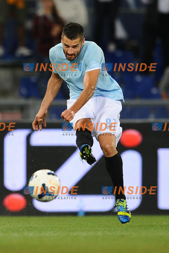 Antonio Candreva Lazio<br /> Roma 06-10-2013 Stadio Olimpico<br /> Football Calcio 2013/2014 Serie A<br /> Lazio vs Fiorentina<br /> Foto Antonietta Baldassarre Insidefoto