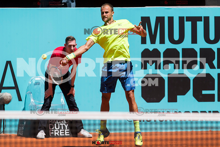 Marlus Copil during Mutua Madrid Open Tennis 2017 at Caja Magica in Madrid, May 08, 2017. Spain. /NortePhoto.com
