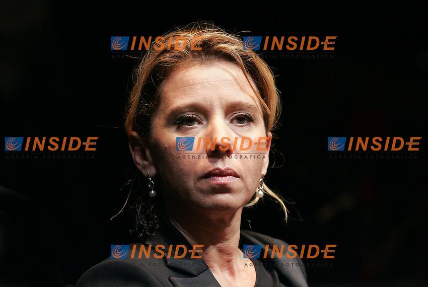 CONCITA DE GREGORIO<br /> Roma 30/01/2010 Presentazione del libro &quot;Giustizia e Potere&quot;.<br /> Presentation of the book &quot;Justice and Power&quot;.<br /> Photo Samantha Zucchi Insidefoto