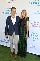 LOS ANGELES - OCT 6:  Eric McCormack, Janet McCormack at  The Rape Foundation's Annual Brunch at the Private Estate on October 6, 2019 in Beverly Hills, CA
