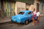 Havana, Cuba: Street scene in Havana Vieja