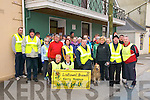 Hospice Walk: Members of the Listowel Hospice Movement who took part in the annual Good Friday fundraising walk pictured outside St. Patrick's Hall prior to departure.