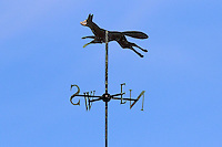 The Leicestershire CCC weather vane during Leicestershire CCC vs Essex CCC, Specsavers County Championship Division 2 Cricket at the Fischer County Ground, Grace Road on 23rd August 2016