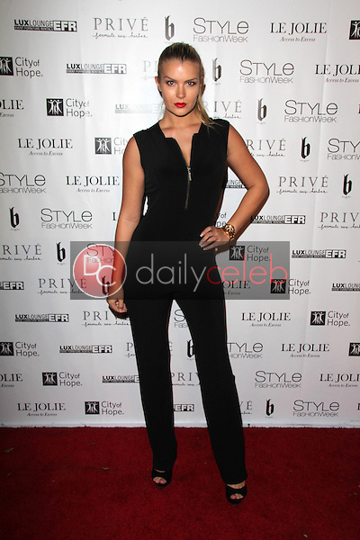 Pia Lamberg<br /> at Sue Wong's 'Fairies and Sirens' Fashion Show at L.A. Fashion Week. The Reef, Los Angeles, CA 10-15-14<br /> David Edwards/Dailyceleb.com 818-249-4998