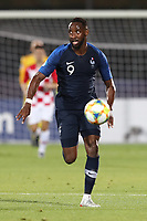 Moussa Dembele of France in action<br /> Serravalle 21-06-2019 Stadio San Marino Stadium <br /> Football UEFA Under 21 Championship Italy 2019<br /> Group Stage - Final Tournament Group C<br /> France - Croatia<br /> Photo Cesare Purini / Insidefoto