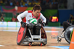 SEPTEMBER 18, 2016 - WheelChair Rugby : <br /> 3rd place match Japan - Canada  <br /> at Carioca Arena 1<br /> during the Rio 2016 Paralympic Games in Rio de Janeiro, Brazil.<br /> (Photo by AFLO SPORT)