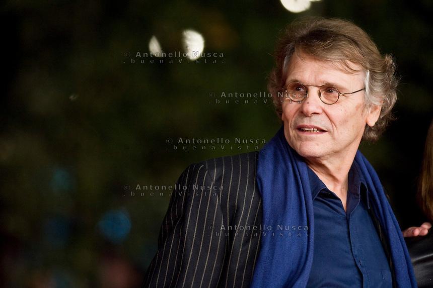 Roma, 13 Novembre, 2013. Lo scrittore francese Daniel Pennac presente al Festival del Cinema di Roma.