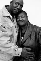 "BROWNSVILLE, TN - MARCH 24: HELEN'S BBQ. Brenda and Daniel ""Shoebox"" Miller.(Photo by Landon Nordeman)"