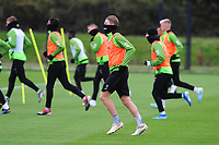 George Byers of Swansea City in action during the Swansea City Training at The Fairwood Training Ground in Swansea, Wales, UK. Wednesday 30 October  2019