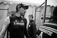 the charisma of race winner Fabian Cancellara (CHE/TrekFactoryRacing) is clear...<br /> <br /> Ronde van Vlaanderen 2014