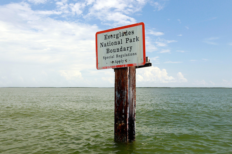 The Florida Everglades National Park boundary and the 10,000 islands out of Chokoloskee Island. Photo/Andrew Shurtleff